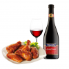 Lambrusco2BChicken wings