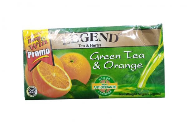 Legend Tea Herbs Green Tea Orange 50g