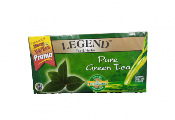 Legend Tea Herbs Pure Green Tea 50g