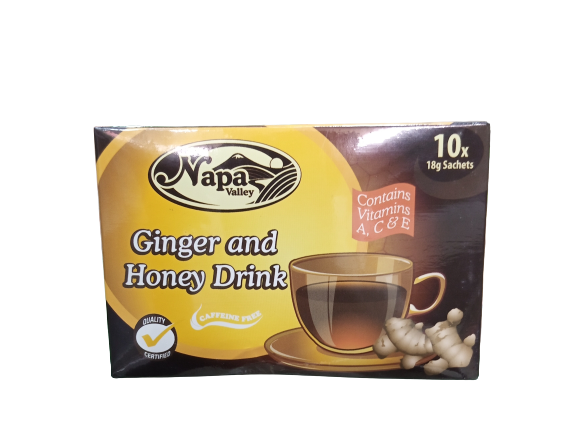 Napa Valley Ginger and Honey Drink