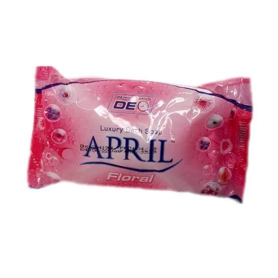 April Luxury Bath Soap