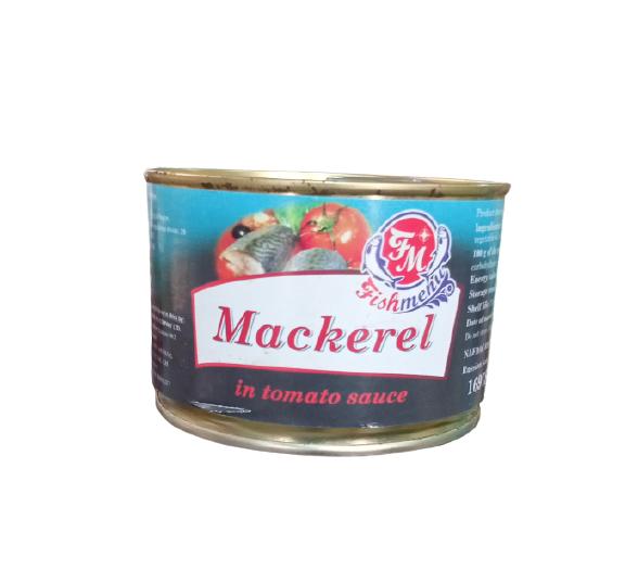 Fish Menu Mackerel in tomato source