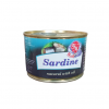 Fish Menu Sardine natural with oil