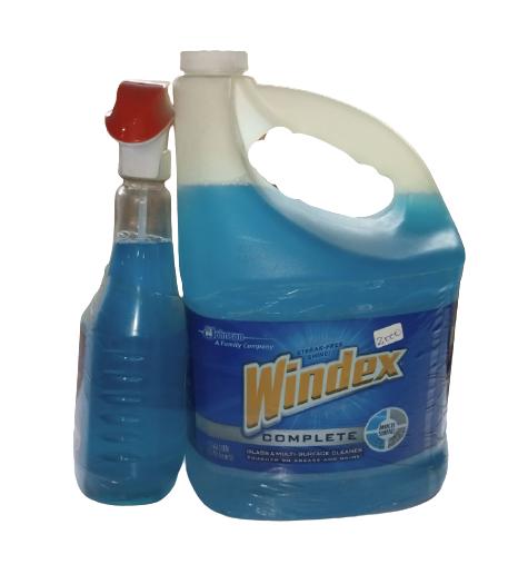 WindexCompleteMulti purposeGlassCleaner