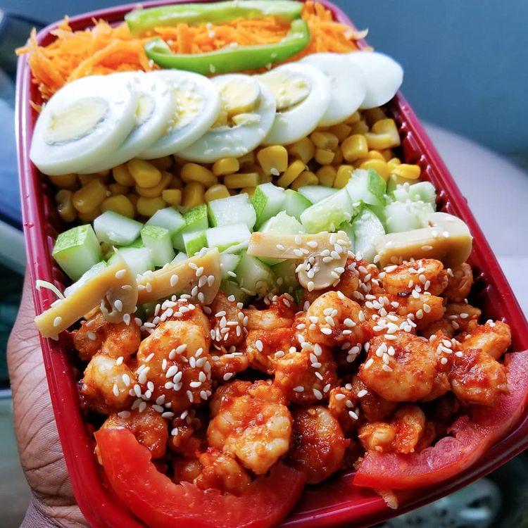 juicenation shrimps salad.