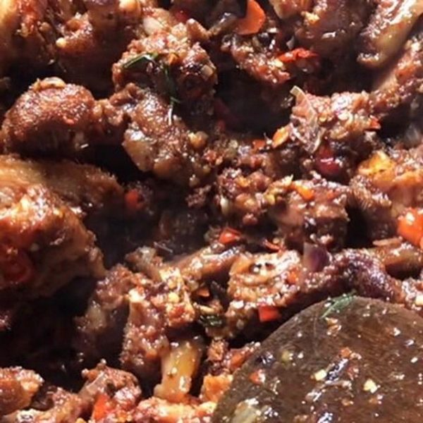 peppered pork sauce