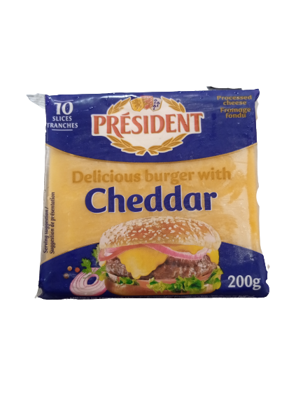 PresidentBurgerCheese200g