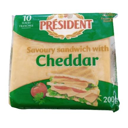 PresidentSandwichCheese200g 01