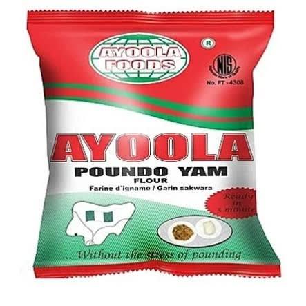 AyoolaPoundoYamFlour 0.9kg