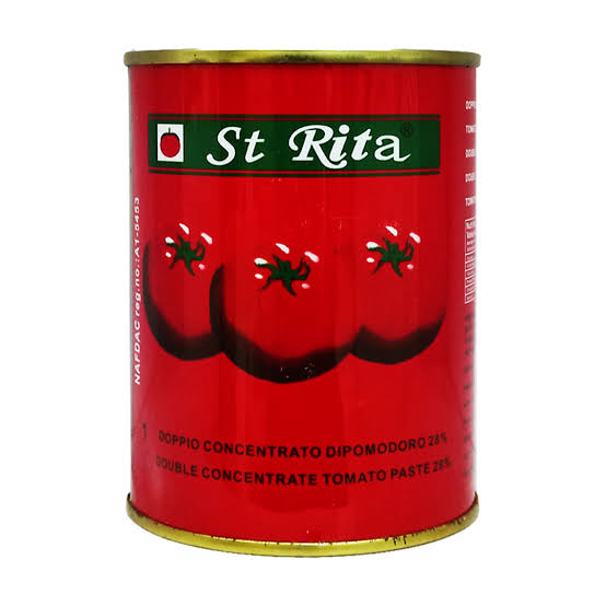 StRitaTinTomatoPaste400g